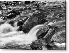 Acrylic Print featuring the photograph Creek by Beverly Parks