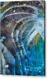 Creek Ice Abstract I Acrylic Print