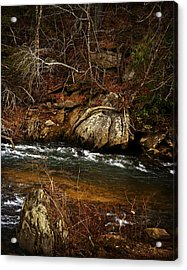 Creek Acrylic Print by Mario Celzner