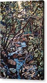 Creek Near Smart View Acrylic Print by Kendall Kessler