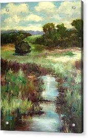 Creekside Morning Acrylic Print
