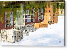 Creekside Reflections Acrylic Print by Kate Brown