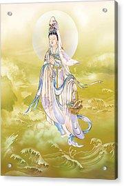 Acrylic Print featuring the photograph Creel Kuan Yin by Lanjee Chee