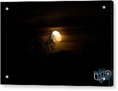 Creepy Az Moon Acrylic Print
