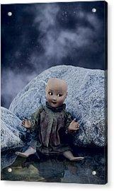 Creepy Doll Acrylic Print by Joana Kruse