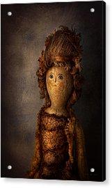 Creepy - Doll - Matilda Acrylic Print by Mike Savad