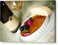 Creme Brulee  Acrylic Print by Shanna Gillette