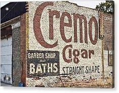 Cremo Cigar Acrylic Print by Cathy Anderson