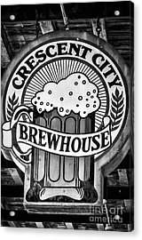 Crescent City Brewhouse - Bw Acrylic Print