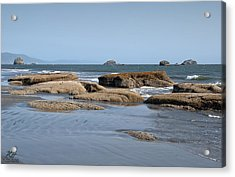 Crescent City Acrylic Print by Kenneth Hadlock