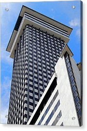 New Orleans Crescent City Towers #2 Acrylic Print by Michael Hoard