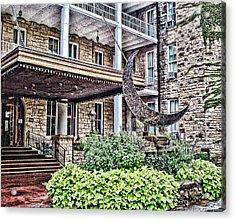 Crescent Hotel Acrylic Print