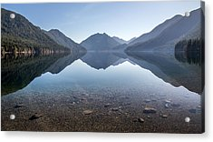 Crescent Lake Reflection Acrylic Print by Pierre Leclerc Photography