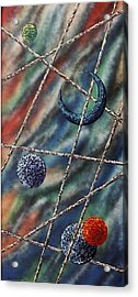 Crescent Acrylic Print by Micah  Guenther