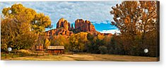 Crescent Moon Ranch Acrylic Print by Guy Schmickle