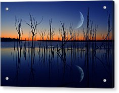 The Crescent Moon Acrylic Print