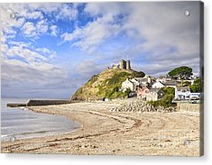 Criccieth Castle North Wales Acrylic Print by Colin and Linda McKie