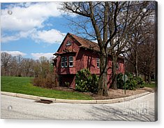 Cricket Building At Haverford College Acrylic Print