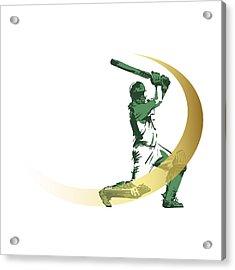Cricket Acrylic Print by Ali ArtDesign