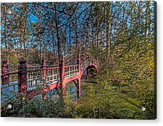 Acrylic Print featuring the photograph Crim Dell Bridge by Jerry Gammon
