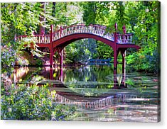 Crim Dell Bridge William And Mary College Acrylic Print