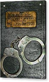 Crime Scene Investigation Acrylic Print by Paul Ward