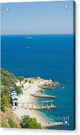 Crimea Landscape Acrylic Print by Boon Mee