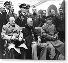 Crimean Conference In Yalta Acrylic Print