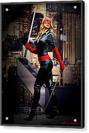 Crimson Avenger The Penthouse Watch Acrylic Print