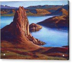 Crimson Cove Acrylic Print