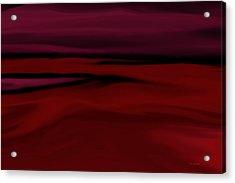 Crimson Fog Acrylic Print by Tim Stringer