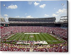 Crimson Tide A-day Football Game At University Of Alabama  Acrylic Print