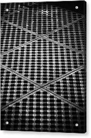 Criss Cross Acrylic Print