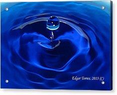 Cristal Blue Persuasion Acrylic Print