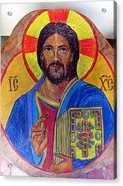 Cristo Pantocrator Acrylic Print