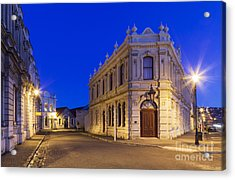 Criterion Hotel Oamaru New Zealand Acrylic Print by Colin and Linda McKie