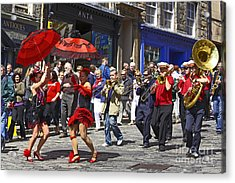 Criterion New Orleans Parade Band Acrylic Print by Craig B