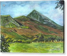 Croagh Saint Patricks Mountain In Ireland  Acrylic Print