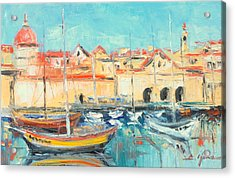 Croatia - Dubrovnik Harbour Acrylic Print