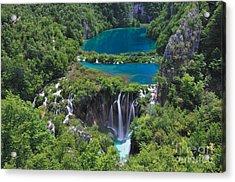 Croatia Landscape Acrylic Print by Boon Mee