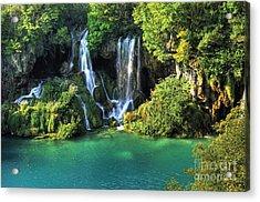 Croatia Travel Acrylic Print by Boon Mee