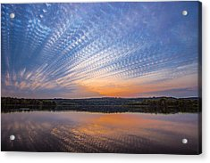 Crochet The Sky Acrylic Print