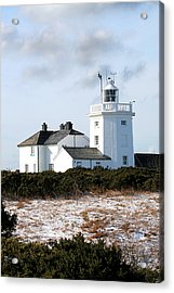 Cromer Lighthouse Acrylic Print by Paul Lilley