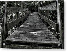 Crooked Bridge Acrylic Print