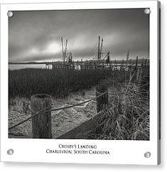 Crosby Landing Acrylic Print