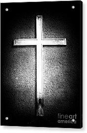 Cross Acrylic Print by John Rizzuto