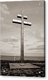 Cross Of Lorraine Acrylic Print by Olivier Le Queinec