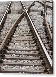 Acrylic Print featuring the photograph Crossing by Beth Vincent