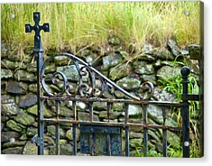 Crossing Gate Acrylic Print
