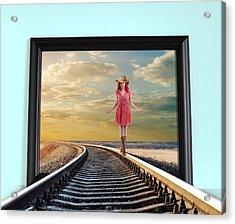 Crossing Over Acrylic Print